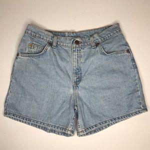 Levi's Jean Shorts Vtg Sz 10 Mom Shorts Hi Waist